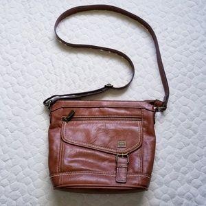B.o.c. Born purse vegan leather crossbody brown